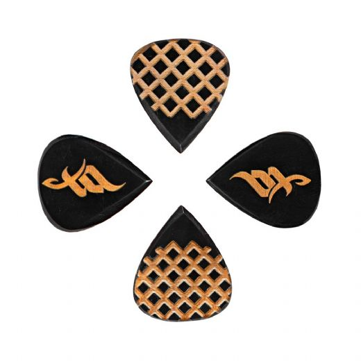 Tom Quayle Black Horn 4 Signature Guitar Picks